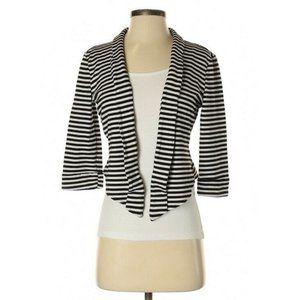 White House Black Market Stripe Blazer Jacket XS
